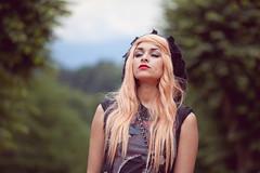 Sarah (DiegoPHX) Tags: nature girl canon bokeh 200 blonde 5d piercings 70 markii f4l 5d2