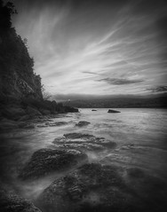 Mono mess (Roan Manion Images) Tags: camera sea blackandwhite cloud seascape clouds photography mono coast photo nikon coastline whisp teignmouth whiteandblack whispy shaldon blackandwhitebeach blackandwhiteseascape seapicture nikond5000 seascapeimage seascapepicture nphotomag seaimage