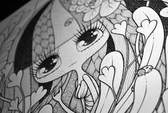 WIP (Anita Mejia) Tags: art illustration pen ink drawing traditional editorial ilustracion revistatu chocolatita anitamejia tumagazine mexicanillustrator