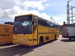 Coach of to Norfolk (Ryanbus22) Tags: bus buses sussex volvo big coach lemon south premiere coaches the plaxton b10m n905aas