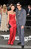 Leah and Nat Weller The European Premiere of 'The Dark Knight Rises' held at the Odeon West End - Arrivals. London, England