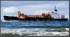 Sand Weaver 7340899_MG_5801 Best Viewed By Pressing L (www.jon-irwin-photography.co.uk) Tags: river boat sand waves ships container bow oil rough weaver pilot seas chemical tankers tees dredgers teesport wwwjonathanirwinphotographycouk 7340899
