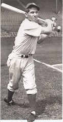 "Johnny ""Ugly"" Dickshot (NJ Baseball) Tags: blackandwhite newjersey jerseycity rooseveltstadium newjerseyhistory jerseycitygiants johnnydickshot"