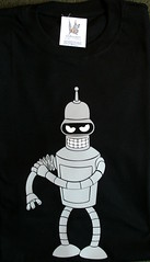 Remera Bender (Lady Krizia) Tags: tv cartoon tshirt futurama bender vinilo serie animacin remera wilwarin remeras estampado termoestampado