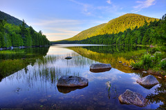 Acadia National Park (Greg from Maine) Tags: trees sky lake reflection forest landscape nationalpark pond maine barharbormaine acadia barharbor acadianationalpark mainephoto