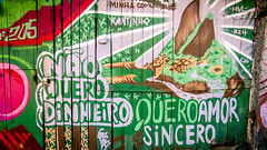 I prefer the money (Fran Caparros) Tags: vidigal rio de janeiro brasil brazil favela barrio street art graffiti arte grafitero true love amor verdadero cidade ciudad city maravillosa mural verde green portuges brasileo sudamerica latinoamerica latin latino