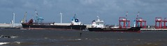 Yeoman Bank passed by Stolt Kittiwake (frisiabonn) Tags: ship marine vessel water stolt kittiwake oil chemical tanker bulk carrier liverpool new brighton gladestone waves wirral yeoman bank river mersey uk great britain england united kingdom seaside outdoor maritime