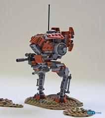 SW_Iltis (THE BRICK TIME Team) Tags: lego space walker war star mech warrior scout iltis machine gun minigun