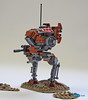 SW_Iltis (THE BRICK TIME Team) Tags: lego space walker war star mech warrior scout iltis machine gun minigun