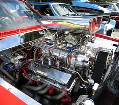 1975 Chevy Vega Pro Street engine (WetCoastLife) Tags: 1975 chevy vega pro street engine northdelta delta northdeltashowandshine carshow car classicscars cars showandshine vancouver