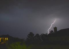 Fire Dangers From Lightnings (Eleu Tabares) Tags: lightning monsoon season weather sky clouds rain desert lasvegas