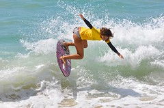Amber Torrealba - Champion, Women's Pro (cjbphotos1) Tags: thevic2016 aliso beach skimboarding finless waves spray action sports ocean lagunabeach california thevic2016skimboardingchampionship pro mens womens world
