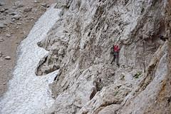 Turski leb (2114 m), Kamniko-Savinjske Alpe, Slovenija / Turski leb (2114 m), Kamnik-Savinja Alps, Slovenia (Hrvoje aek) Tags: turskileb okreelj kamnikosavinjskealpe kamnikealpe savinjskealpe kamniksavinjaalps solavaalps steineralpen kamnikeralpen sulzbacheralpen sanntaleralpen alpidikamnikedellasavinja alpe alps alpen alpi stijene rocks litica rock stijena cliff ferata viaferrata staza path pejza landscape planinarenje hiking planinar hiker planinari hikers priroda nature snijeg snow led ice ljeto summer hribi planina mountain planine mountains slovenija slovenia slowenien d3300
