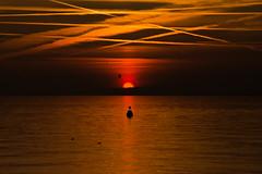 Blood red sunset (santiandre97) Tags: red sunset tramonto lago lagodigarda lakegarda italy italia lake nikond7200 nikon nikonitalia silhouettes shadesofsky sky shades happy mist