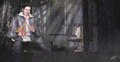 My cats  (Pablo Henzel Photographer) Tags: photo foto photographer fotografia reatrato portrait male moto motorcycle motorbiker biker man boy guy garoto homem menino rapaz moda fashion vogue pretty beauty grace loveliness glamor glamour second life segunda vida jogo plataforma game set play music rock motorcyclist helmet turlaccor comesoonposes poses pose jacket rocker comesoonposesposes shot doll avatar art sl artists events blog bossstylestyle blogger cats