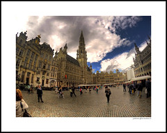 Grand Place, Brussels Belgium GOPR04 Silver (j glenn montano 3) Tags: grand place brussels belgium gopr04 silver the grote markt justiniano glenn montano hdr