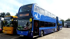 New buses for first West Lothian (Midland Bluebird 578) Tags: 33431 first firstwestlothian adl400 alexander sn66wga