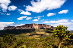 Chapada Diamantina, Vale do Brejo (Bahia) - Brazilian Landscape (andrebatz) Tags: chapada diamantina bahia brasil brazil landscape cu blue sky azul nuvens clouds suny day mountains montanhas wildlife south america rock rocky gerais vale valley exotic lenis nikon d7100 nikkor 18 55 mm