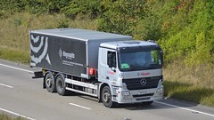 DK09 DOA (panmanstan) Tags: mercedes actros wagon truck lorry commercial transport vehicle a180 meltonross lincolnshire