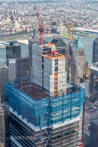 2 World Trade Center construction