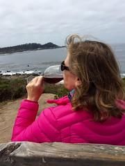 Carmel Wine Tasting with Nancy Brown (Nancy D. Brown) Tags: californiawinemonth carmel california carmelwinewalk pointlobos whitesierra