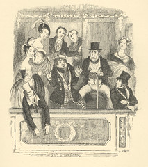 Making a night of it (Rescued by Rover) Tags: george cruikshank charles dickens sketches boz victorian london illustration theatre audience box ladies gentlemen drunk