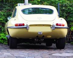 yellow E-Type (Transaxle (alias Toprope)) Tags: classicremise meilenwerk berlin jaguar etype 42 six