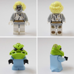 newbies #2 (Sweeney Todd, the Lego) Tags: lego monsters rock frankenstein zombie zombiedriver pizza hut marilyn monroe alien minifigure minifigures moc