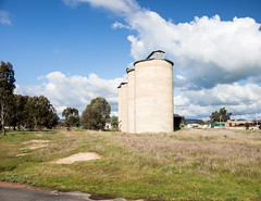 Old grain silos Holbrook (laurie.g.w) Tags: old grain silos holbrook country nsw rural hume agriculture