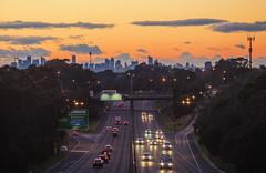 the city (bart.kwasnicki) Tags: sydney skyline city urban cityscape australia sunrise sky sun
