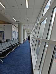 Terminal Lines (Jo Zimny Photos) Tags: theflickrlounge torontotrip dallasftworthtx observationdeck terminal airport seats leadinglines wk38 sundaytheme