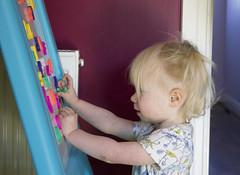 Lily Playing (kellyhackney1) Tags: playing piccy love littlelady playtime fun birthday birthdaygirl girl pretty cherub