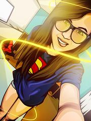 Girls-DP-for-facebook (16) (zarra.nadilla) Tags: vector vectorxvexel vectorart ilustrator indonesia art artist awesome cartoon creative collor caricature creature comic popart people selfie