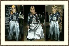 Scotsbridge Mill (Amber :-)) Tags: long silver satin skirt tgirl transvestite crossdressing