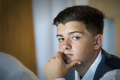 The Thinking One (JDWCurtis) Tags: brother family wedding weddingday celebration thinking thought ethancurtis