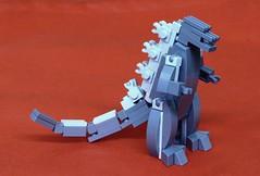 Leg Godt Zilla (SPARKART!) Tags: godzilla kaiju lego toy monster sparkart