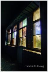 """Maison Belle """"The colors of Belle"""" (Tamara de Koning) Tags: maisonbelle tamaradekoning color dark hdr canon chteau villa window raam decay verlassen colour kleur"""