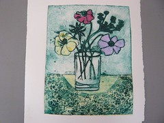 More work from the collagraph course participants (ArtisOn Masham) Tags: printmaking workshops masham collagraph artison craftworkshops hestercox