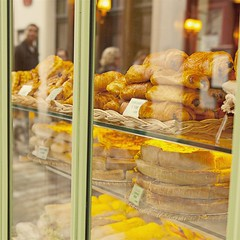 Boulangerie window, Montmartre, Paris (Marco Boekestijn) Tags: life street city trip travel light portrait musician food holiday paris france streets colour art tourism window shop seine facade square boat store spring nice nikon women warm europe artist gallery view market drawing 5 postcard hill visit montmartre tourist tourists days traveller boutique painter april marco guide greetings frankrijk garedunord beatiful parijs authentic attraction boulangerie 2012 quiche metropole ladefence painauchocolat croissants quartierlatin travelphotography cityoflight cityoflove d80 welcometoparis boekestijn parisgeotagged