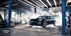 Up In Smoke I (GSAutomotiveArt.com) Tags: light black art fashion matt photography cool nikon flat thomas cigarette smoke awesome flash 4 automotive smoking jeans porsche com 28 van gs gijs matte 2470 panamera rooij d700 spierings