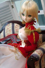 Saber Extra in Blue Fairy Cafe (toel-uru) Tags: blue cafe fairy saber extra