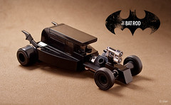The 'other' car... (_Tiler) Tags: lego mini batman hotrod dccomics batmobile batmanforever batrod legobatmobile