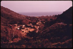 Leo Carrillo state park on Highway #1 near Mal...