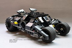 Lego 7888 The Tumbler: Joker's Ice Cream Surprise (KatanaZ) Tags: lego batman joker thetumbler lego7888 thetumblerjokersicecreamsurprise