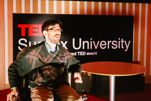 Jacob Berkson speaking at TEDxSussexUniversity 2012
