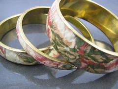 Fabric Bracelets (Suwani) Tags: brass floralbracelet fabricbracelets quiltedbracelet quiltedfabricbracelets quiltedfabricbracelet