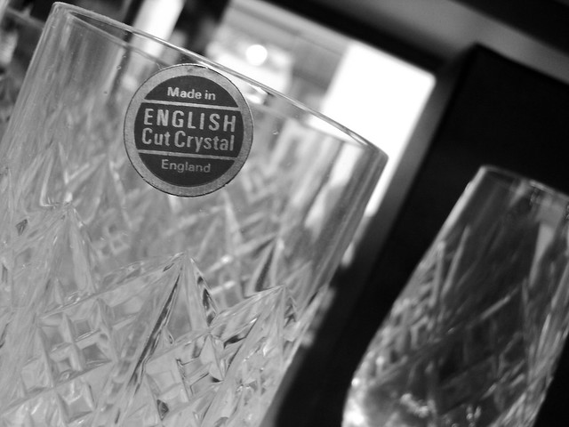 English Cut Crystal