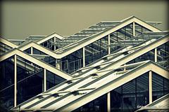 Kew - Glass Houses (Rednaxela13) Tags: people bw kewgardens monochrome kew canon eos mono objects manmade tamron botanicalgardens royalbotanicalgardens alexhughes 60d canoneos60d tamron70300mmvc ©alexhughes alexanderhughes