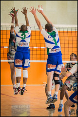Volley-Ball - Team Castres (Broogland) Tags: france sport championship team jump pentax champion player volleyball filet volley equipe saut contre k5 castres joueur championnat sportif attaque vbc gymnase asptt volleyballclub ffvb nationale2 volleyeur cmvb championnatfrancevolleyball nicopatch