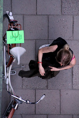 From Above (josephzohn | flickr) Tags: girls people fromabove tjejer människor uppifrån brahegatan gatubild